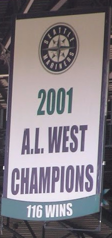 Image result for mariners 116 win banner