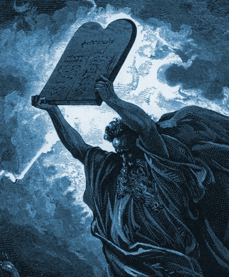 The Ten Commandments Were Written on Sapphire Tablets From God's ...