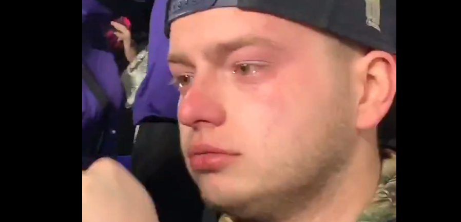 Ravens Beating New England Had A Patriots Fan Crying His Eyes Out In The Stands (VIDEO) | Total Pro Sports